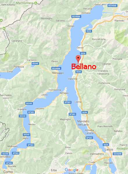 Bellano am Comer See