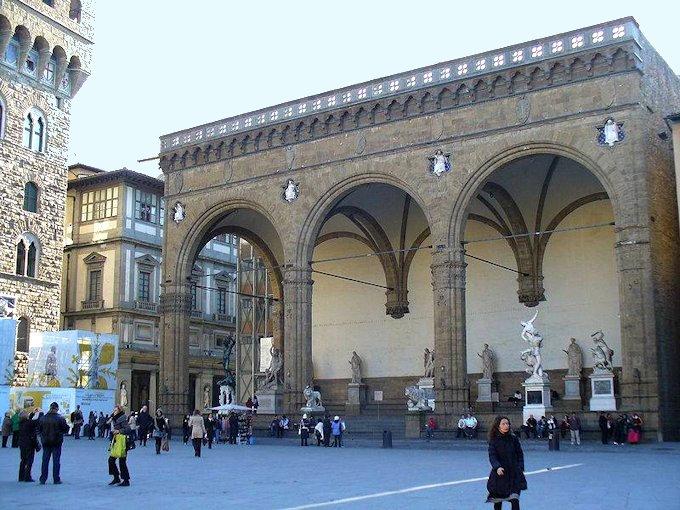 Très Florenz - Die Piazza della Signoria - Fotos und Infos KG63