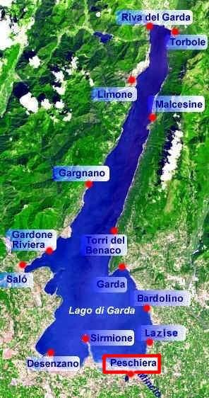 gardasee peschiera karte Peschiera am Gardasee   Fotos und Infos