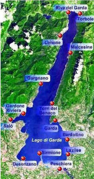 Der Gardasee Lago Di Garda