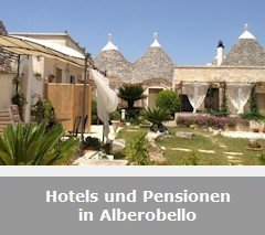 Hotels, Pensionen und B&B in Alberobello