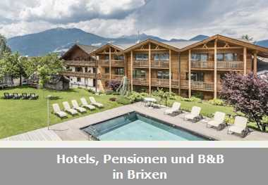 Hotels, Pensionen und B&B in Brixen