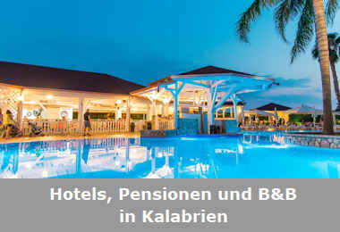 Hotels, Pensionen und B&B in Kalabrien