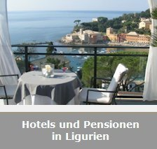 Hotels und Pensionen in Ligurien