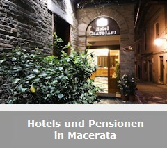 Hotels, Pensionen und B&B in Macerata