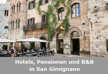 Hotels, Pensionen und B&B in San Gimignano