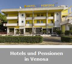 Hotels und Pensionen in Venosa