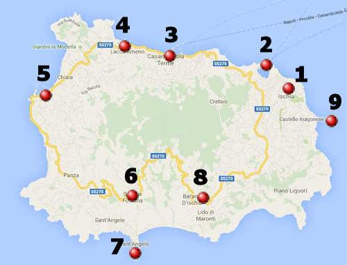 ischia karte Ischia