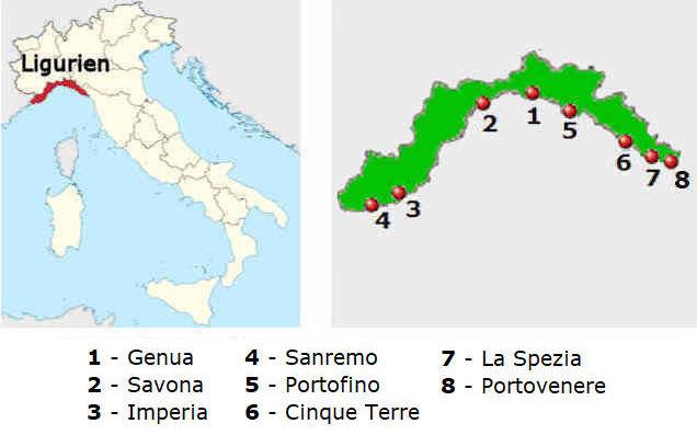 Das Wetter In Ligurien