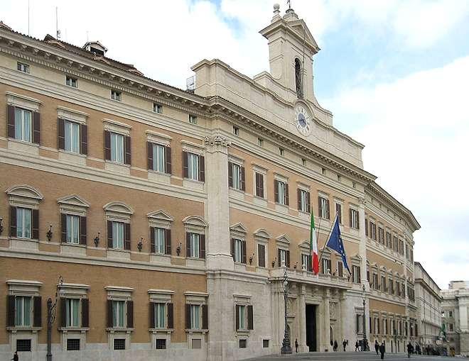 Italienische politik und gesellschaft for Parlamento rome