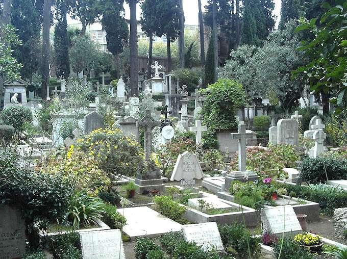 Cementerio teutónico de Roma