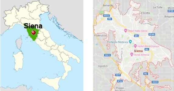 Siena Touristische Informationen Das Historische Pferderennen