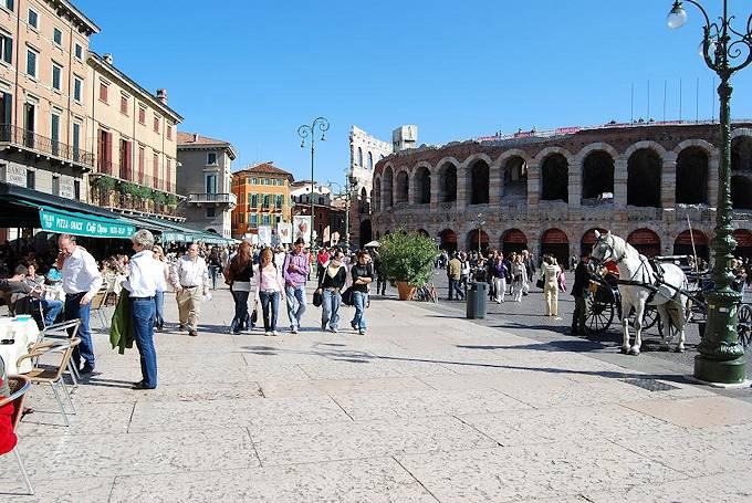 Verona - touristische Informationen.