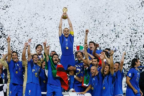 Italien 4 X Fussballweltmeister